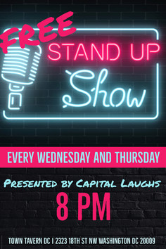 CAPITAL LAUGHS COMEDY SHOW