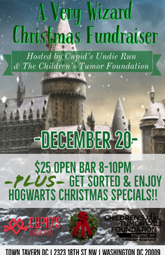 A VERY WIZARD CHRISTMAS FUNDRAISER