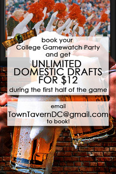 BOOK COLLEGE GAMEWATCH PARTY