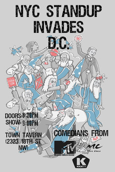 NYC COMEDY INVADES DC